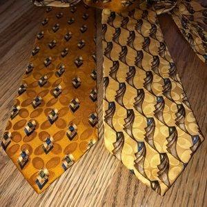 Two Rooster VTG Power Ties